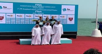 Ana Marcela Cunha vence etapa de Doha do Circuito Mundial; Allan do Carmo e Colonese vão ao Mundial