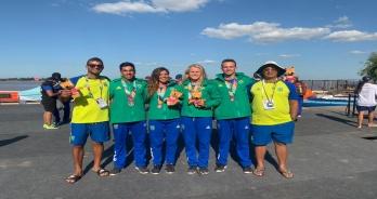Revezamento misto conquista a prata nos Jogos Sul-Americanos de Praia