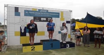 Luana Lira vence trampolim de 1m e obtém índice A no Troféu Brasil de Saltos Ornamentais