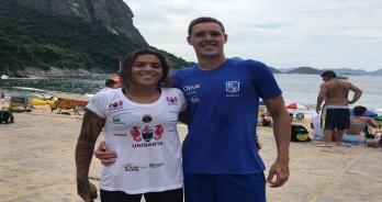 Ana Marcela Cunha e Diogo Villarinho são campeões do Troféu Brasil Maria Lenk de Maratonas Aquáticas