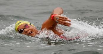 Com Ana Marcela Cunha e medalhista olímpico, Inema fecha o calendário da Maratona Aquática em 2019