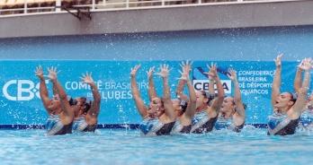 Veja as fotos do Campeonato Brasileiro Interclubes de Nado Artístico