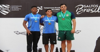 Kawan Pereira e Luis Felipe Moura fazem índice para Copa do Mundo da Fina