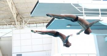 Provas sincronizadas definem campeões na Taça Brasil de Saltos Ornamentais